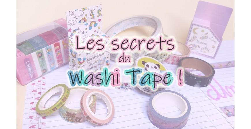 Les secrets du Washi Tape ?