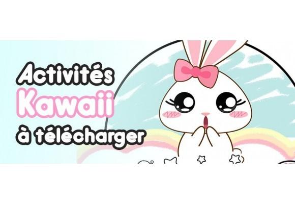 Des Activités Kawaii pour faire passer le temps