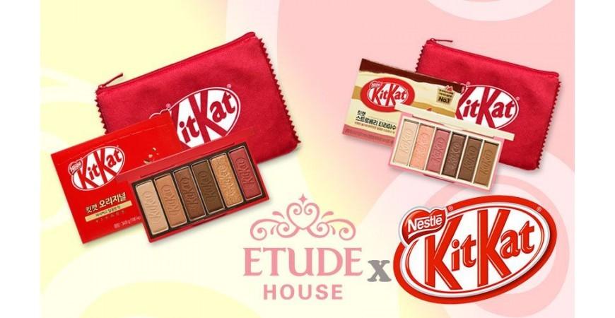 L'incroyable association kawaii de KitKat et Etude House !