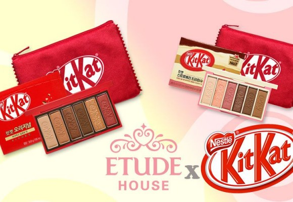 L'incroyable association kawaii de KitKat et Etude House !